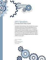 List of Course Descriptions and Speakers - Regional Association ...