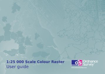 563Kb PDF: 1:25 000 Scale Colour Raster user guide - Digimap