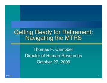 Retirement Workshop 2009.pdf - Needham Public Schools