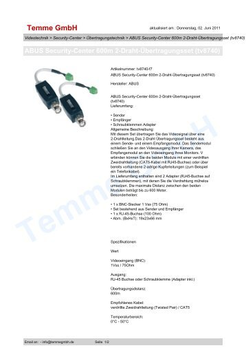Heitel CamDisc 4 - Digitalrekorder - security-live
