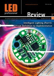 Intelligent Lighting: From Definition to Implementation