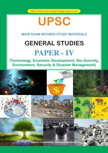 Civil Services Main revised Notes Paper 4.pmd - Developindiagroup ...