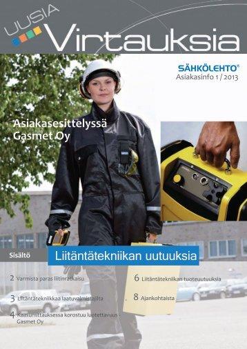 Uusia Virtauksia 1 /2013 - Sähkölehto
