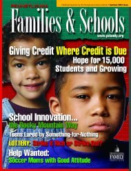 Published Quarterly by the Pennsylvania Family Institute • Summer ...