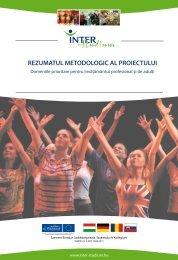 REZUMATUL METODOLOGIC AL PROIECTULUI - inter-studium.hu