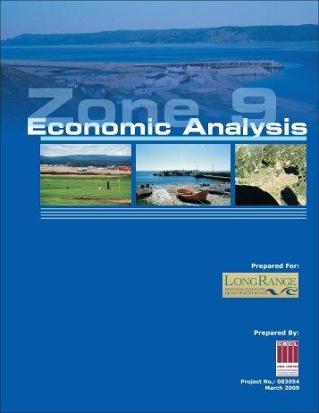 Economic Analysis of Zone 9 2009 - Long Range Regional ...