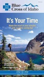 spring 2012 newsletter - Blue Cross of Idaho