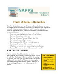 Forms of Business Ownership - business article