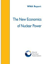The New Economics of Nuclear Power - Eusustel.be