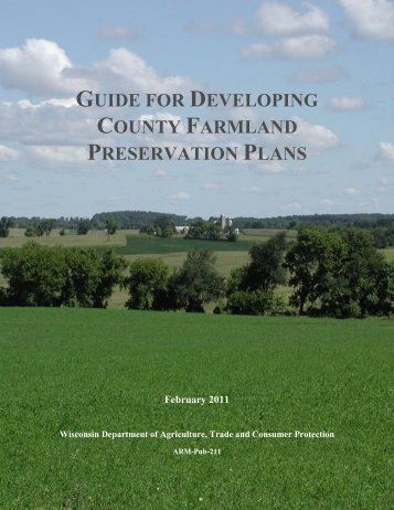 GUIDE FOR DEVELOPING COUNTY FARMLAND PRESERVATION ...