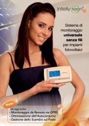 Sistema di monitoraggio universale senza fili per ... - Elettricoplus