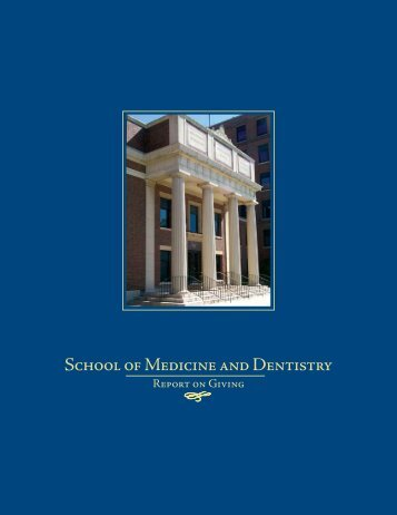 School of Medicine and Dentistry - University of Rochester Medical ...