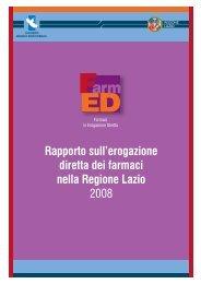Rapporto sull'erogazione diretta dei farmaci nella Regione Lazio 2008