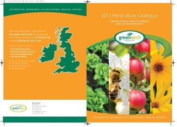 2012 Horticulture Catalogue - Green-tech