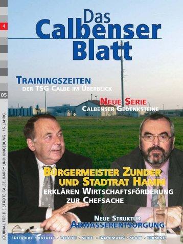BÜRGERMEISTER ZUNDER UND STADTRAT HAMM