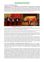 Jan-Feb 2013 issue of GP-TCM RA Newsletters - Good Practice in ...