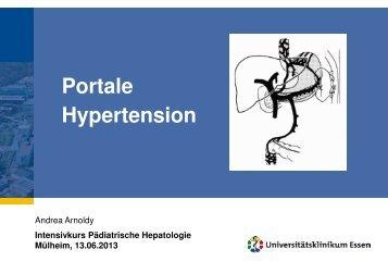 Portale Hypertension - Kinder-Gastroenterologie-Essen