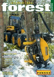 Issue 13 - December 2009 - International Forest Industries (IFI)