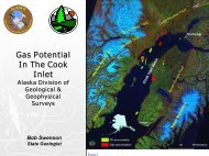 Gas Potential In The Cook Inlet - Alaska Miners Association