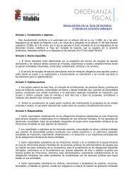 ORDENANZAS/FISCALES/Recogida de Basura - Ayuntamiento ...