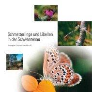 Schmetterlinge und Libellen in der Schwantenau