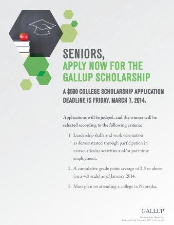 Scholarship - Nebraska FBLA