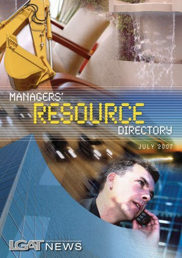 July 2007 - Managers Resource Directory - Local Government ...