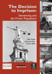 Decision to Imprison, The - Edge Hill Research Archive