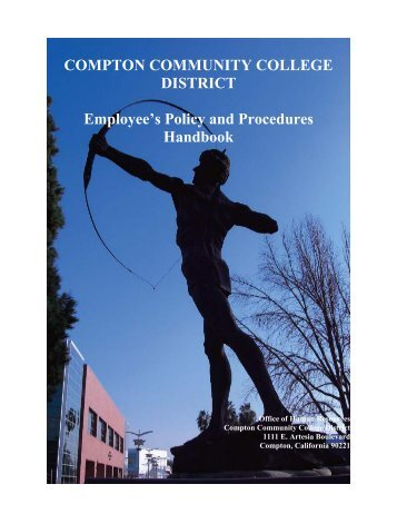 Employees Policies and Procedures - Compton Community College ...