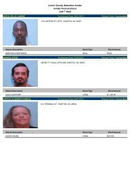 Updated March 5: Mugshots of people arrested in Lenoir County