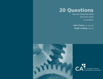 20 Questions - Canadian Institute of Chartered Accountants