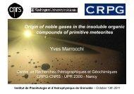 Xe - Institut de Planétologie et d'Astrophysique de Grenoble