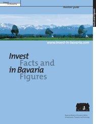 Invest in Bavaria Facts and Figures - bayerisch-indisches zentrum