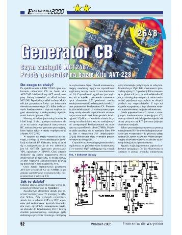 Generator CB Czym zastąpić MC1248? - Elportal