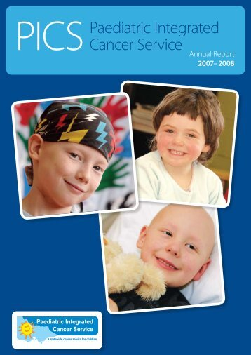 Annual reports (2007-08 - Paediatric Integrated Cancer Service