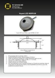 Lampe témoin avec buzzer WSFB60 - LED