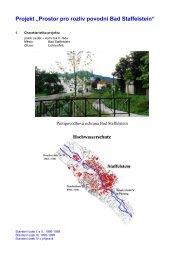 """Projekt """"Prostor pro rozliv povodní Bad Staffelstein"""""""