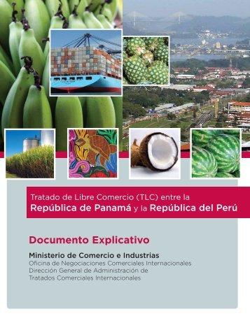 Documento explicativo - TLC Panamá - Perú - Ministerio de ...