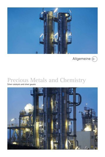 Precious Metals and Chemistry - ALLGEMEINE Gold