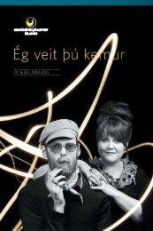 Sækja efnisskrá (pdf) - Sinfóníuhljómsveit Íslands