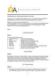 Verordening PA bestrijding wilde haver 2008 - Productschap ...