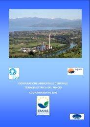 dichiarazione ambientale centrale termoelettrica del mincio ... - A2A