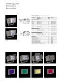 Compact projector for discreet facade illuminations - Thorn Lighting - Page 6