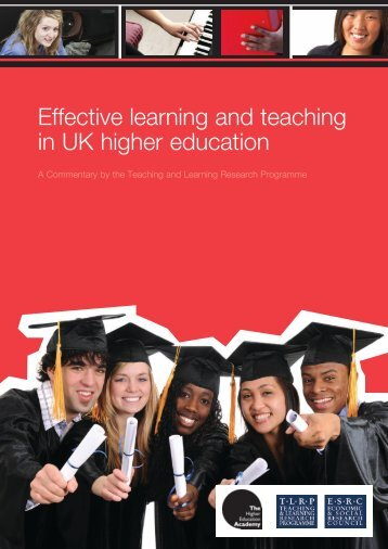 Effective learning and teaching in UK higher education