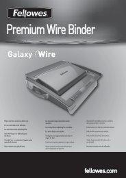 Premium Wire Binder - Fellowes