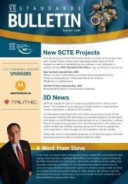 Summer 2009 - SCTE