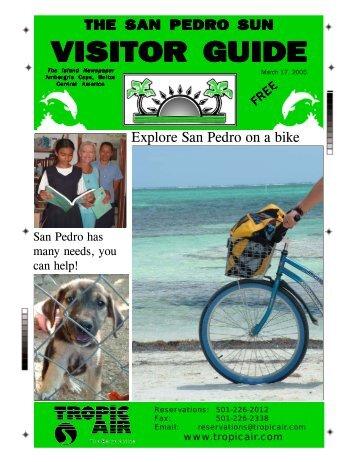 visitor guide visitor guide visitor guide visitor guide - The San Pedro ...