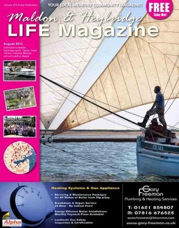 Maldon & Heybridge - Estuary LIFE Magazines