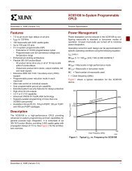 Xilinx XC95108 In-System Programmable CPLD datasheet, v3.0 (12 ...
