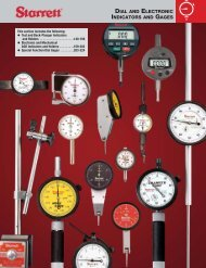 dial and electronic indicators and gages - JW Donchin CO.